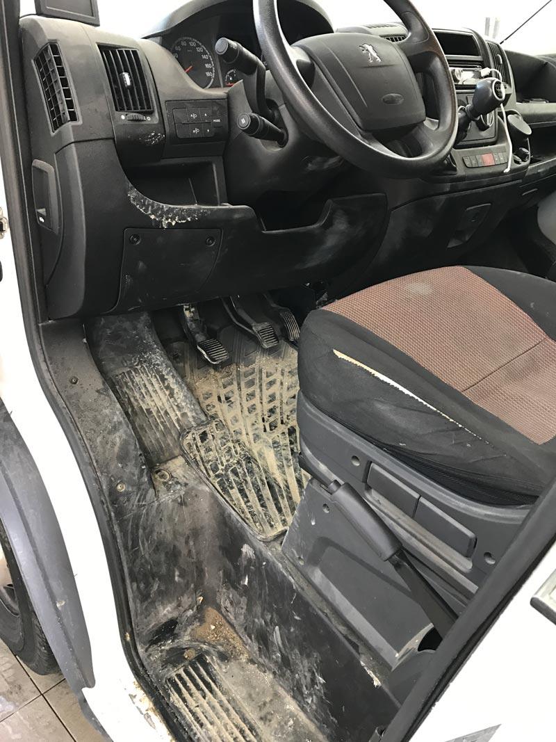 Notranje čiščenje vozil avtopralnica Krajnc